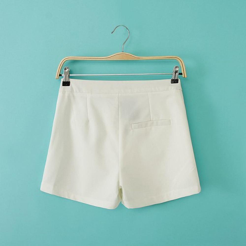 Aliexpress.com : Buy New Brand Fashion Women Solid White Shorts ...