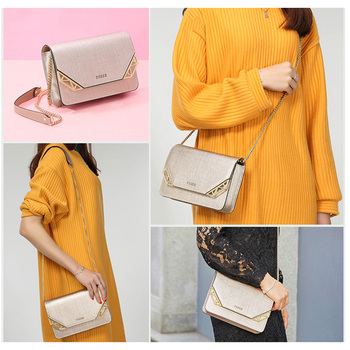 FOXER Brand Women's Cow Leather Crossbody Bag Small Female Fashion Shoulder Bag Mini Cellphone Messenger Bags for Girl 2