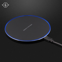 Universal QI Charging Pad USB Wireless Charger for iphone X 8 plus LG G3 Samsung Galaxy S8 note 8 5 S6 S7 edge note8 charge dock