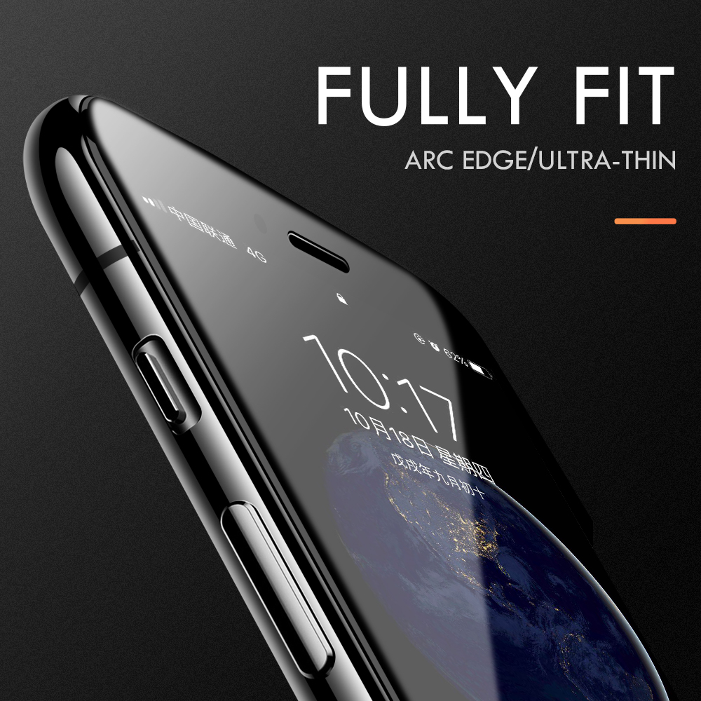 Image 5 - For iphone 7 screen protector 9H enhanced invisible tempered glass for iphone 8 plus iphone7 6 6s x xs protective glass film-in Phone Screen Protectors from Cellphones & Telecommunications