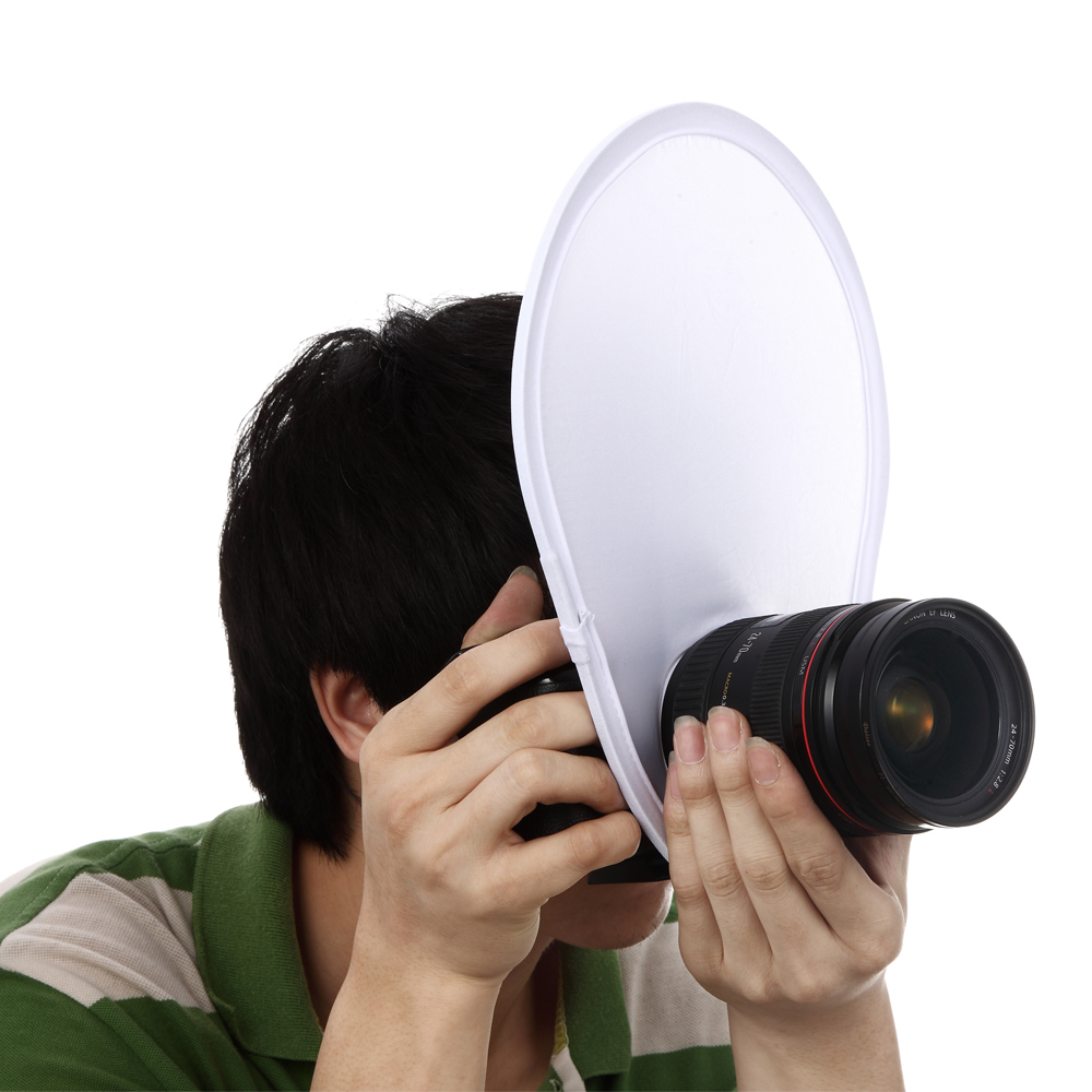Meking Photography Flash lens Diffuser reflector for Canon Nikon Sony Olympus DSLR Camera lenses flash diffuser for sony hvl f58am white
