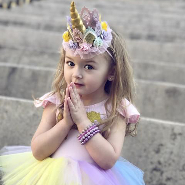 Venta De Diademas Para Bebes Bandas De Pelo De Nio Pc Arco Nios