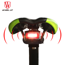 WHEEL UP Waterproof Security MTB Bike Rear Light Lamp Anti-theft Bike Alarm lights Bicycle Taillights giantree bike bicycle tail rear light wireless remote control anti theft alarm security