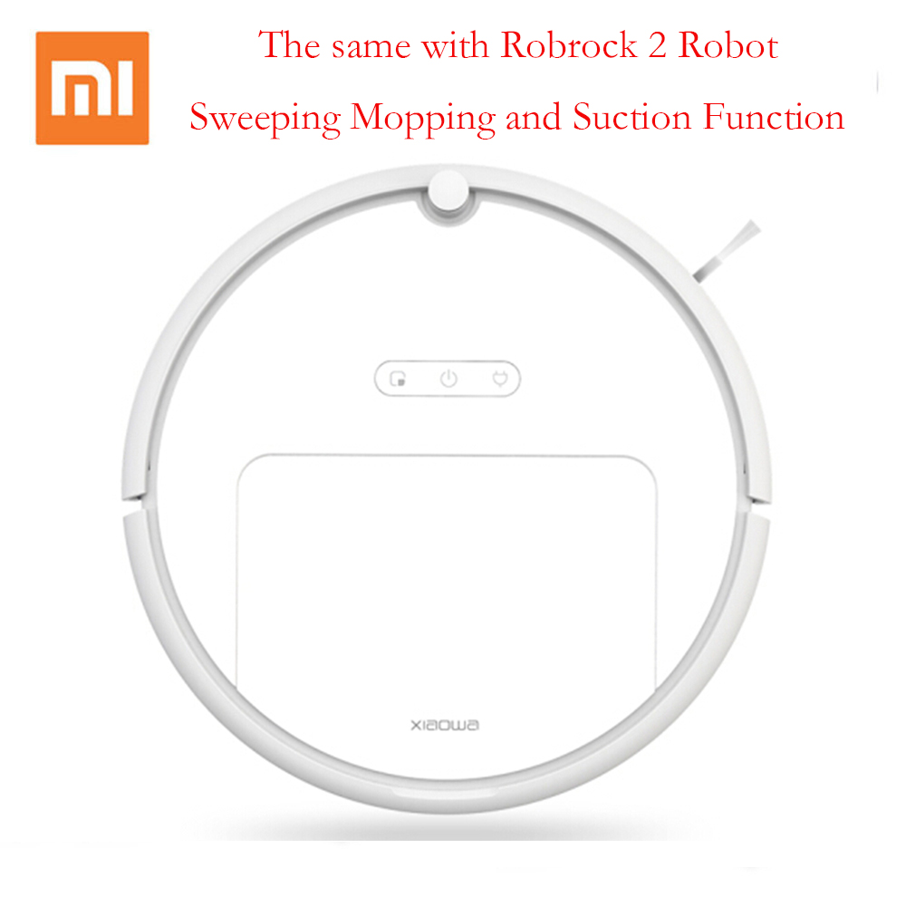 Xiaomi xiaowa Intelligent Robot Vacuum Cleaner with 1800Pa Suction Dry and Wet Mopping App Control Planning Version