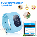Q50 Smart Children Anti Lost GPS Tracker Watch For Kids SOS GSM Mobile Phone App For IOS & Android Smartwatch Wristband Alarm
