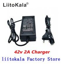 HK LiitoKala 36V 2A Pin Sạc Đầu Ra 42V 2A Sạc Đầu Vào 100 240VAC Lithium Li ion Lý Poly Sạc cho 10Series 36V