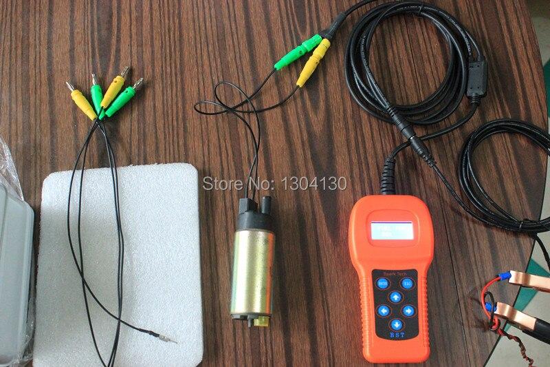 Bstsparktec BST202 12В Автомобильный Топливный насос/кондиционер компрессор тестер и инструмент для очистки