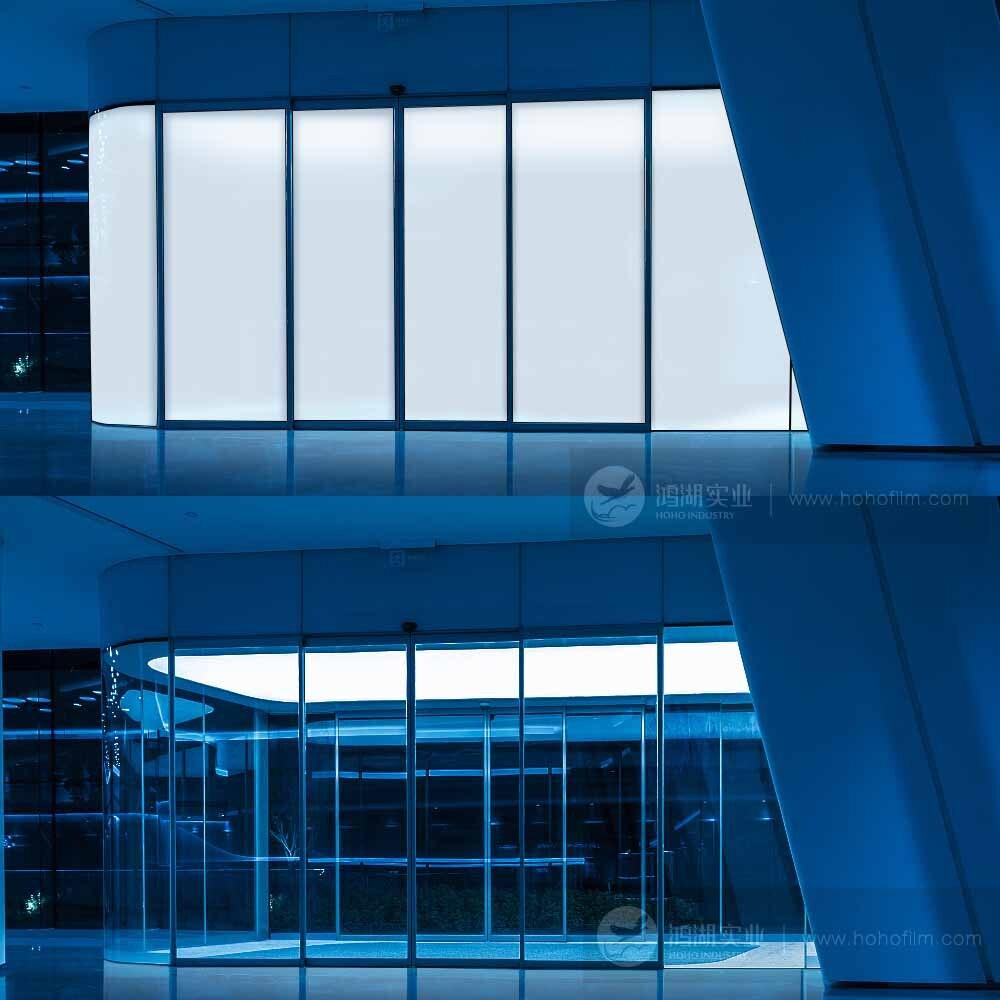 8.16sq.m Vie Privée film de fenêtre intelligente, PDLC Intelligent fenêtre feuille pour la maison, bureau stickers