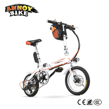 Super Light Folding Bickycle Kids Audult 14″ 16″ Folding Electric Bike With 10Ah/15Ah Removable Bag Battery Shimano Speed System