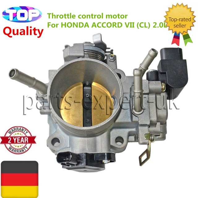 New THROTTLE BODYThrottle control motor For HONDA ACCORD VII CL