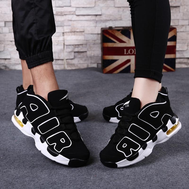Nike Uptempo Womens Black