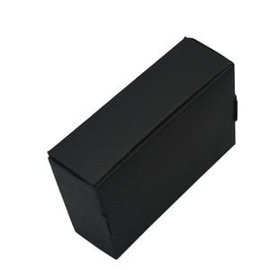 Image 3 - 9.4x6.2x3 cm שחור קרטון נייר קופסות לחתונה מתנה כרטיס חבילה קראפט נייר תיבת יום הולדת סוכריות מלאכות תיבת גלישה 50 PCS