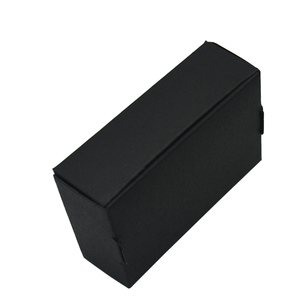 Image 3 - 9.4x6.2x3cm Black Cardboard Paper Boxes for Wedding Gift Card Package Kraft Paper Box Birthday Candy Crafts Wrapping Box 50PCS
