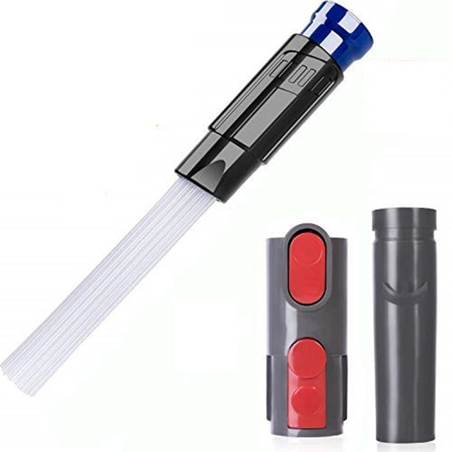 Multi-functional Dusty Brush Daddy Cleaning Tool attachment brush adaptor for dyson V6 V8 V10 DC35 DC61 DC62