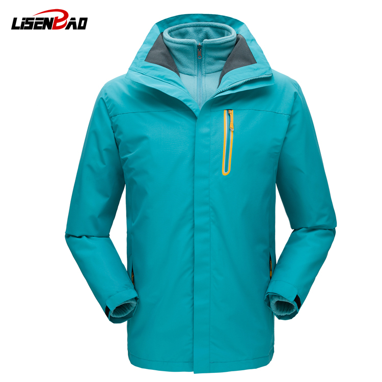 LiSENBAO 2017 High Quality Jackes Men Waterproof windproof chaquetas Brand Clothin Thermal men Coat Parka Homme suits Brand 1748 ...