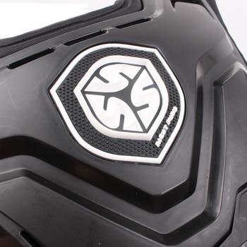 SCOYCO Motorcycles Motocross Chest Back Protector Armadura Vest Racing Protective Body Guard MX Armor Black A-07 6