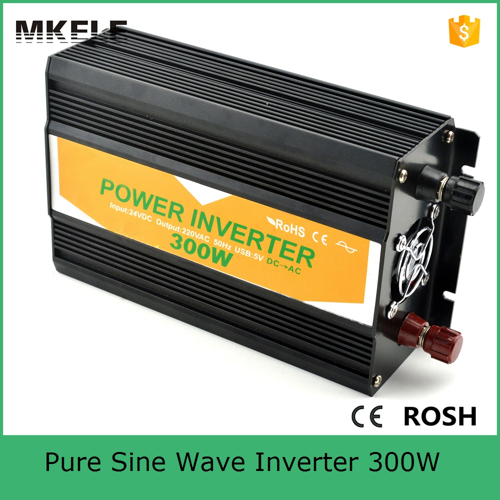 MKP300-242B off-grid pure sine wave power inverter 24v 240v power inverter 300w portable power inverters,inverter 220vac output full power pure sine wave 300watt inverter south africa output single type