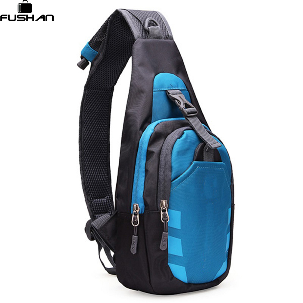 Unisex Nylon Chest Back Pack Crossbody Shoulder Bag Men Women Diagonal Package Rucksacks Small Brand Multifunction bags women s nylon multifunction travel bags funny chest pack men waist pack hiqh quality waist bag unisex shoulder bag bolso cintura