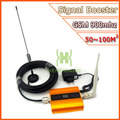 Conjunto completo repetidor GSM 2 G Mobile Phone Signal Booster GSM 900 mhz amplificador de sinal de telefone celular impulsionador 2 G repetidor de sinal de ouro