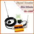Conjunto completo repetidor GSM 2 G del teléfono móvil amplificador de señal GSM 900 mhz amplificador de señal de teléfono celular de refuerzo 2 G repetidor de la señal de oro