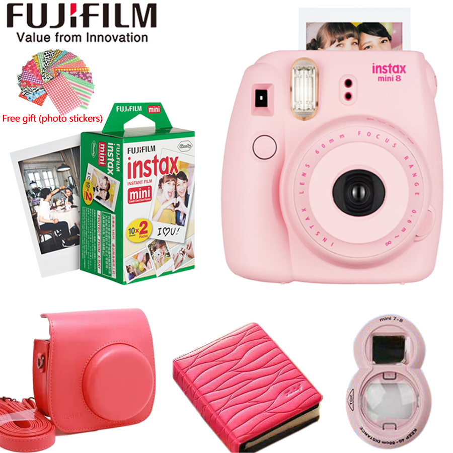 Fujifilm fuji instax mini 8 instant film photo camera 20 for Instax mini 8 housse
