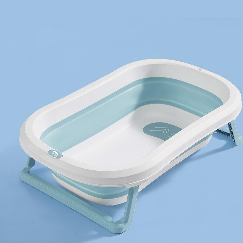 Newborn Baby Foldable Bathtub Plastic Child Size Bath Tub Baby Folding Bathtub For Boys And Girls For Free Gift