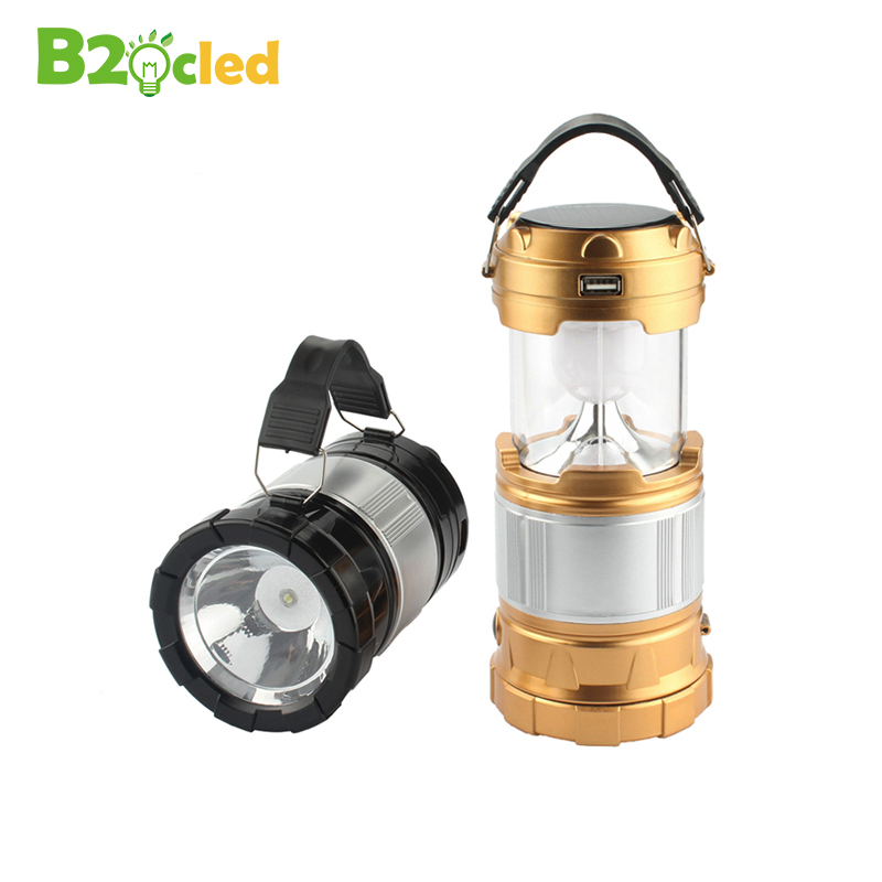Multifunction LED lantern light Solar energy flashlight Portable light searchlight Camping lamp outdoor Hanging lantern Old man