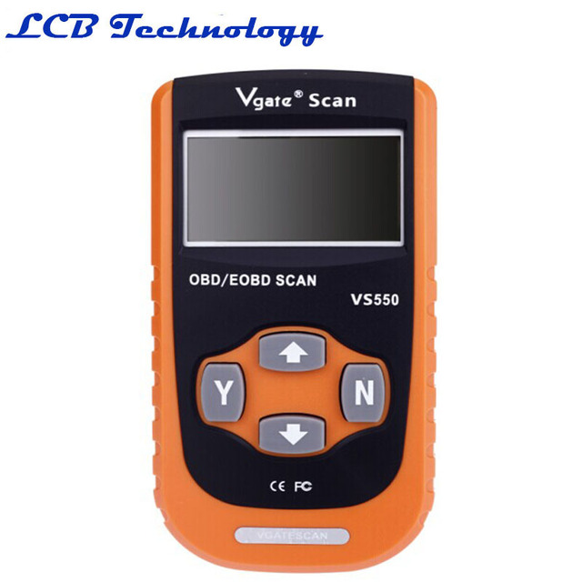 2 PC Ferramenta De Verificação Vgate VS550 CAN OBD EOBD Scaner Para Carro de Diagnóstico do Scanner Auto Diagnóstico Carros Diagnostico OBD2 Escaner Automotriz