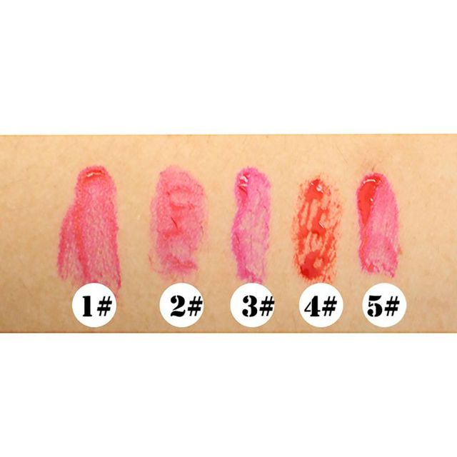 Multifunction Lip Tint Lip Pen Rouge Dyeing Blush Waterproof Makeup Cosmetic Liquid Lip Gloss