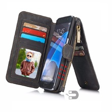 CaseMe 2 in 1 Luxury Magnetic Wallet phone case for Samsung font b Galaxy b font