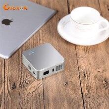 Gigxon-150 pulgadas g05 bolsillo wifi android proyector dlp mini proyector inteligente 800*480 sin hilos con el android/ios teléfono