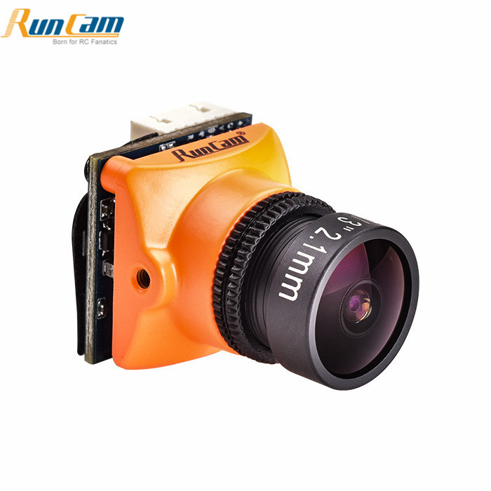 D'origine Runcam Micro Swift 3 4:3 600TVL CCD Mini FPV Caméra 2.1mm/2.3mm PAL/NTSC OSD configuration M12 Lentille FPV Racing Drone