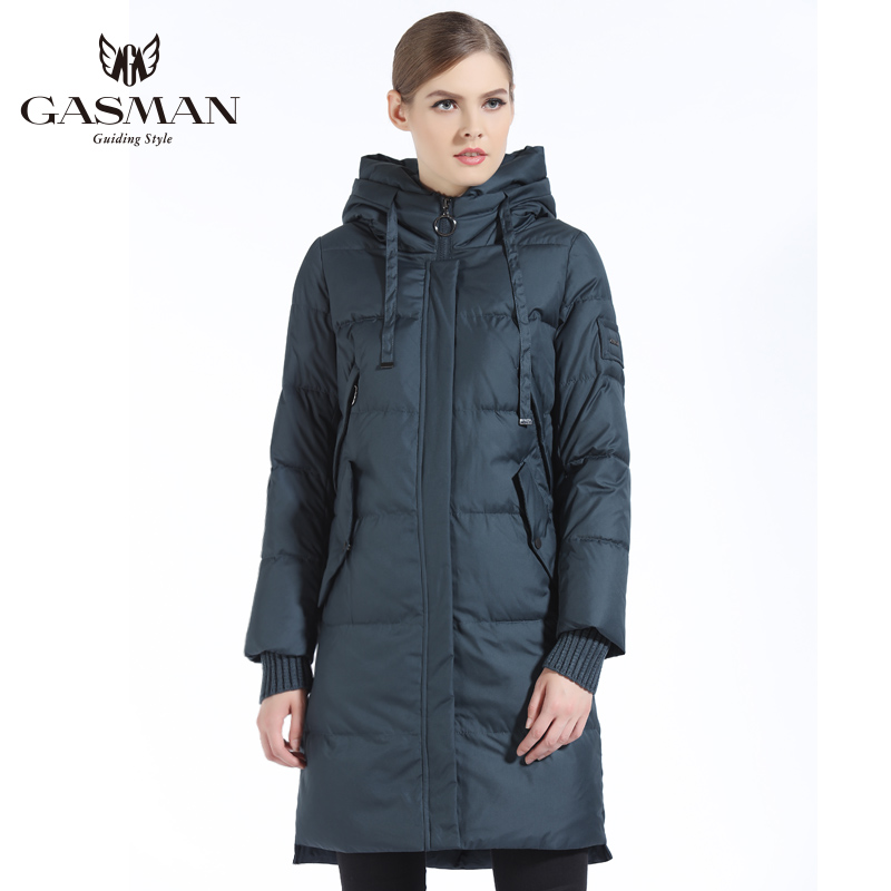 GASMAN Women Thick Winter Outerwear Coat Windproof Warm   Parka   Women Coat Hooded Jackets And Clothes New Winter Collection 2018