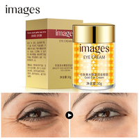 INAGES Gold Eye Cream Anti Puffiness Remove Wrinkles Eye bag Remove Dark Circle Moisturizing Skin Care Ageless Instantly
