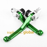 New Motorcycle One Pair Top Quality CNC Pivot Brake Clutch Levers Set For KAWASAKI KX250 2005