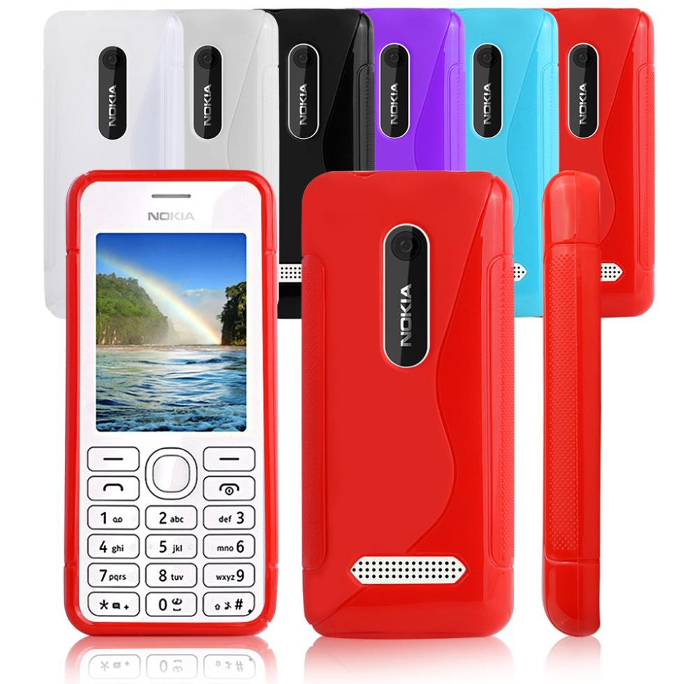 buy online ebc9d 0c891 S Line Gel Case Cover for Nokia 206 2060 on Aliexpress.com | Alibaba ...