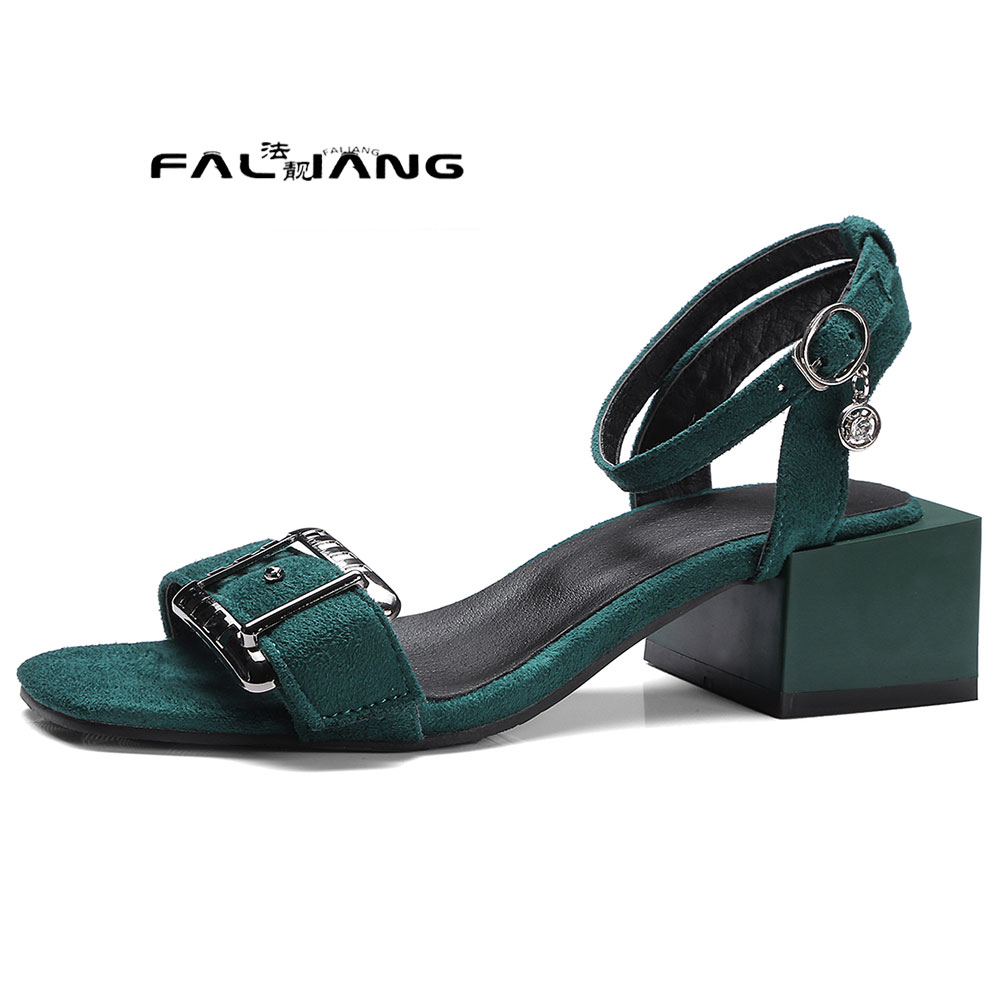 ФОТО Big Size 11 12 13 14 15  16 17Root Textured materials  Cool summer  women's shoes extreme high heels pumps woman for women