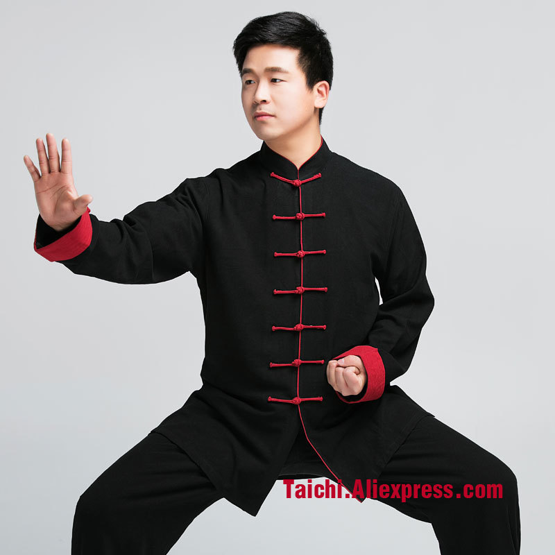 Male & Female Handmade Linen Tai Chi Uniform Wushu, Kung Fu,martial Art, Chinese Stly  Jacket+Pants