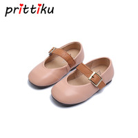 Kids Spring Autumn Children Genuine Leather Flats Baby Girl Brand Party Mary Jane Kid Fashion Princess
