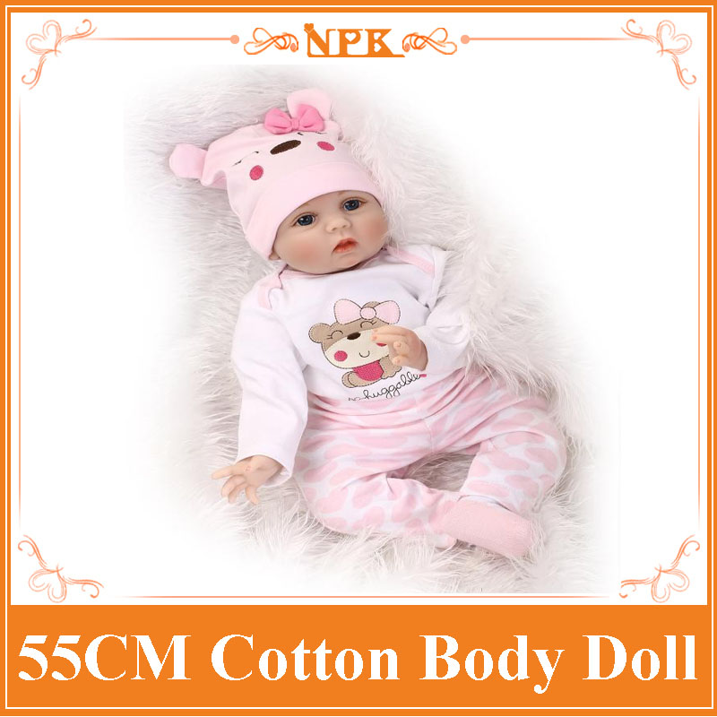 55cm 22'' silicone reborn baby doll toys, girls play house brinquedos lifelike newborn reborn babies Christamas gift for child hot sale silicone reborn babies dolls gift for child kid classic play house toy girl brinquedos baby reborn doll toys