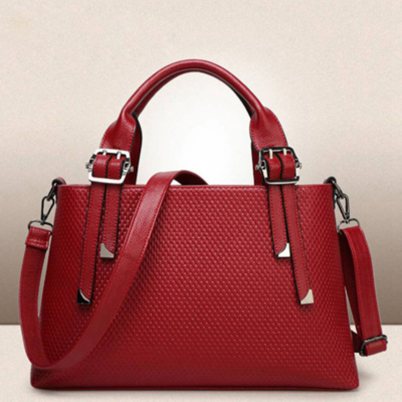 Genuine Leather Handbags Designer Bags Famous Brand Women Bags2018 Luxury Big Capacity Handbag Ladies