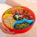 2017 NEW Heat Sel Eco-Friendly Plastic Food Container Storage Box Kitchen Sundries Snack Organizer Box Desktop Sorting Candy Box