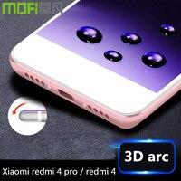 Redmi 4 Pro 64gb Tempered Glass 3D Curved Xiaomi Redmi 4 Case Silicon Cover Redmi4 Prime