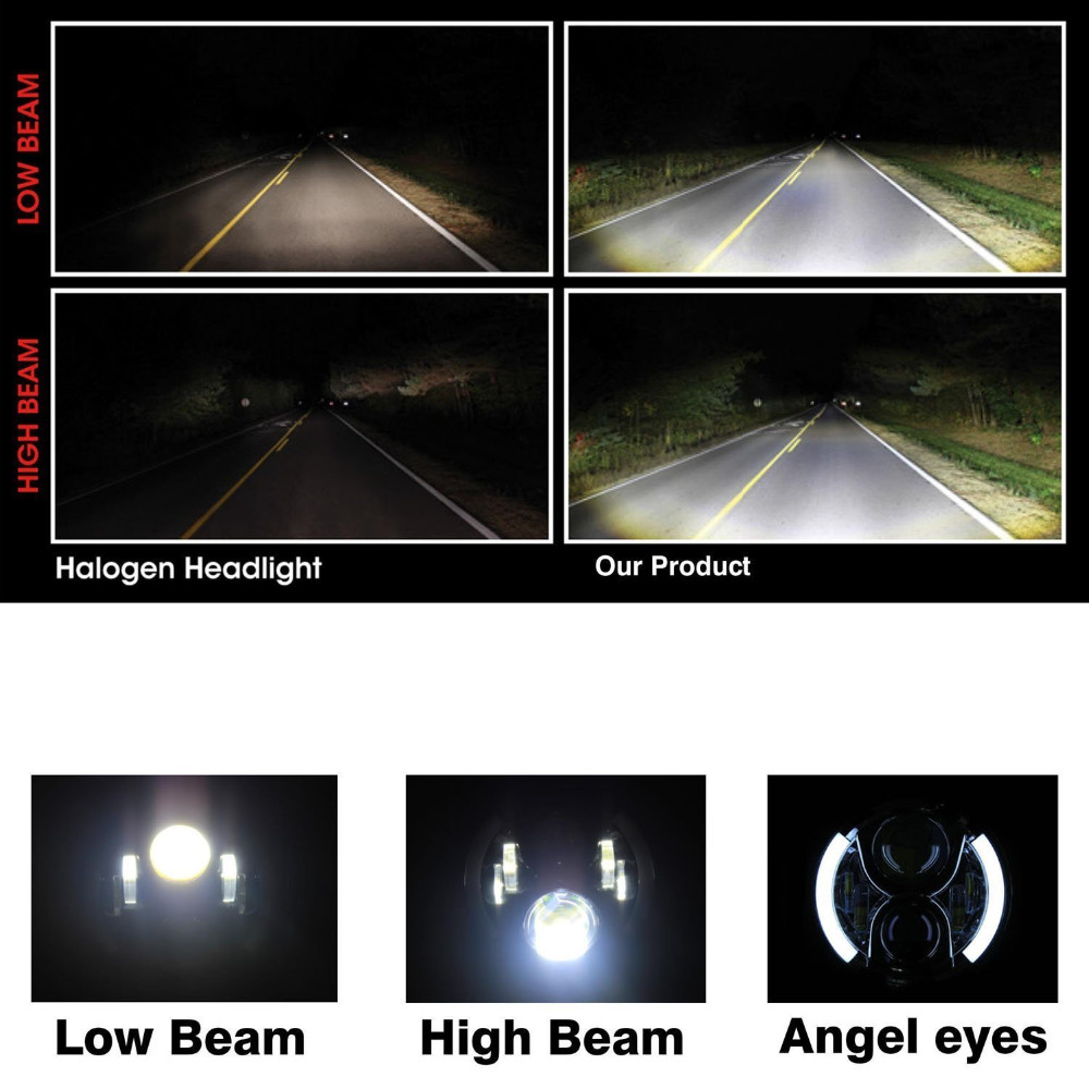 7 Inch Round LED Driving Light (20)