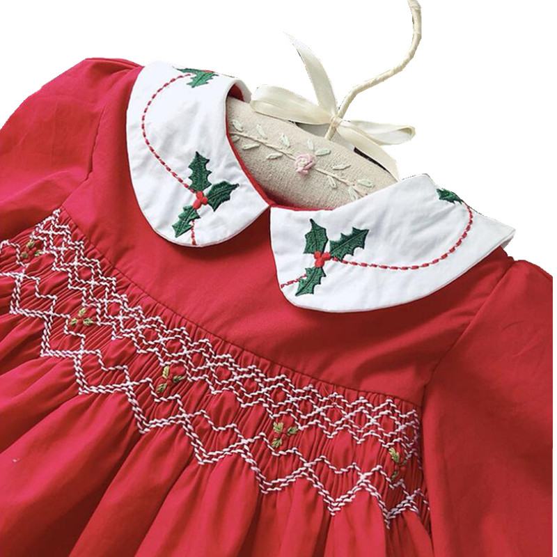 где купить Y18523265 winter Christmas Dress For Girls Dress Red Lace Girls Princess Dress Christmas Costumes For Girls Clothes Child santa дешево