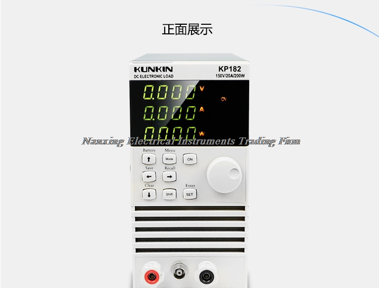 Fast arrival KP182/KP184 Single Channel Electronic DC Load 200W/150V/20A ,400W/150V/40A цена