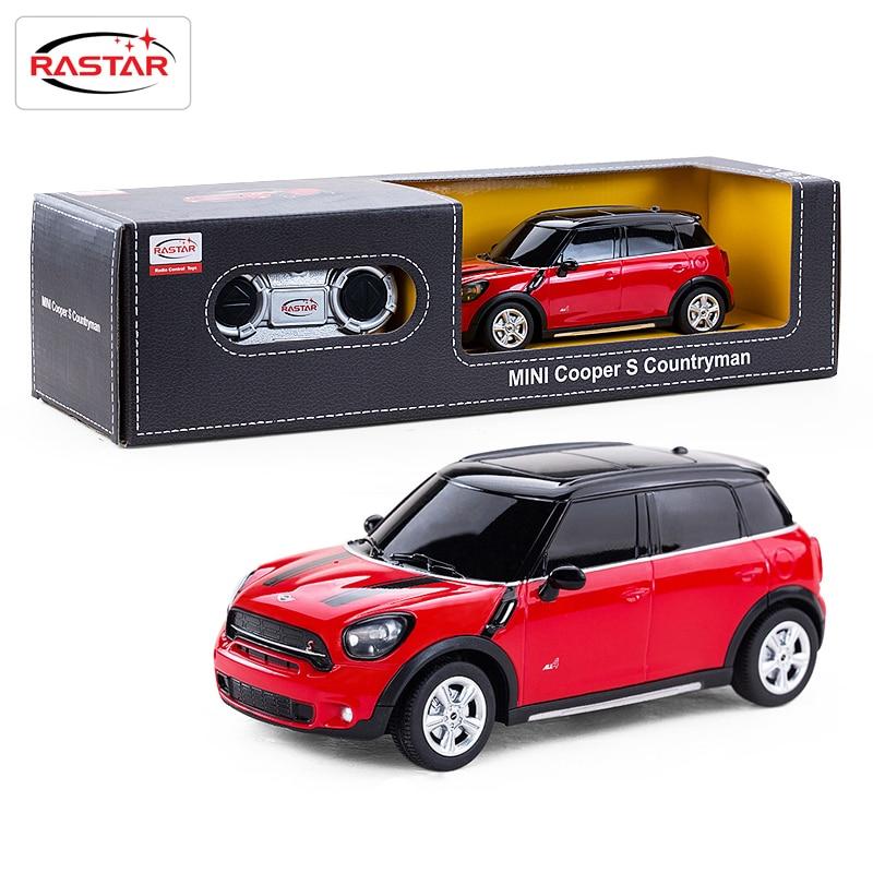 girls remote control car rastar electric rc car 124 radio controlled toys boys gifts kids toys mini cooper s countryman 71700