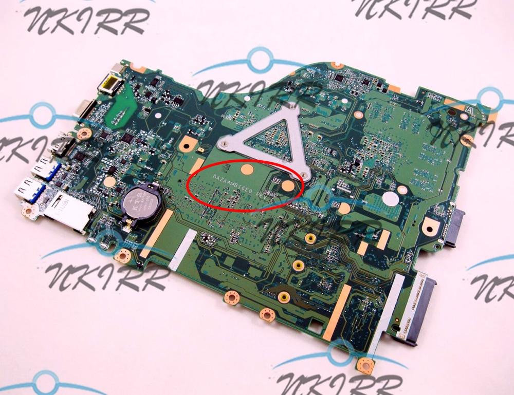 Acer NB.GDW11.002 Aspire E5-575TG F5-573G i3-6100U 940M Motherboard DAZAAMB16E0