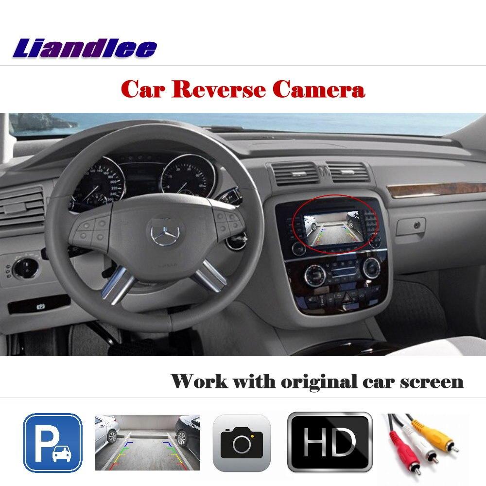 Liandlee для Mercedes Benz R W251 2006 ~ 2013 дисплей/камера заднего вида парковочная камера заднего вида