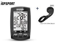GPS rapid positioning usb speedometer iGS50E bicycle gps speedometer IPX7 Waterproof GPS With ANT+ Bluetooth 4.0